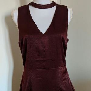 Chic, Maroon Women's Dress